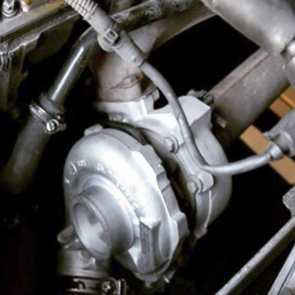 работа турбины двигателя