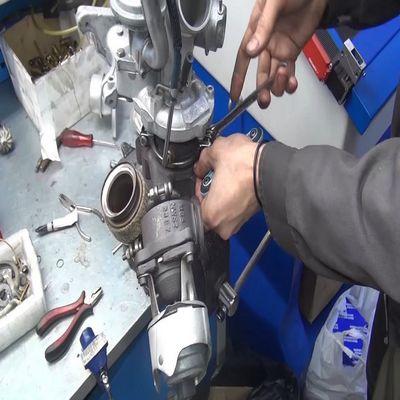 Как делается ремонт турбины